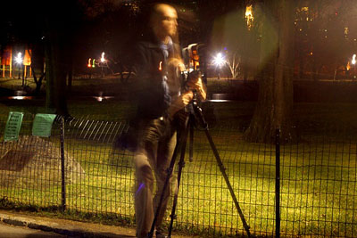 Night Photography in Central Park